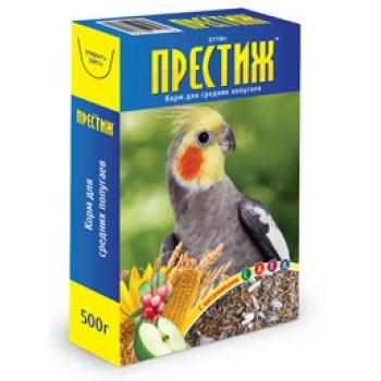 Престиж Корм д/крупных попугаев, 500 гр
