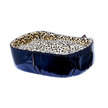 """Pet Head Мягкий лежак """"Роковой леопард"""" 64*53*18, большой (BED Leopard, large)"""