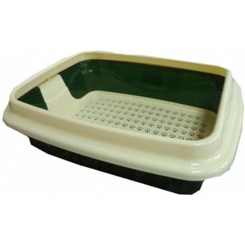 Туалет Догман д/кошек Триплекс малый 31х13х41см