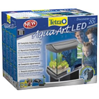Tetra / Тетра AquaArt LED Goldfish аквариумный комплекс 20 л с LED освещением