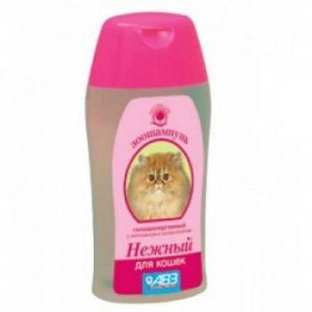 """Шампунь """"НЕЖНЫЙ"""" для кошек гипоаллергенный с хитозаном и аллантоином, 180 мл"""
