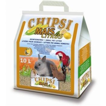 Наполнитель Chipsi Mais Citrus 10л*4,6кг Кукурузный ароматизированный