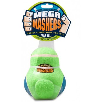"""R2P игрушка для собак Mega Masher """"Кегля"""" 15 см вспененная резина с покрытием теннисного мяча ВЫГОДНАЯ ЦЕНА"""