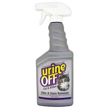 Urine OFF / Юрин Офф, Средство для выявле для уничтожения пятен и запахов от кошек и котят, UO Odor and Stain Remover, Cat & Kitten,IS, 500 ml