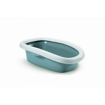 Stefanplast / Стефанпласт Туалет Sprint-10 с рамкой,синий, 31*43*14 см