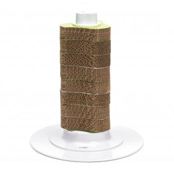 Hagen / Хаген Вертикальная когтеточка на подставке Сatit Senses 2.0