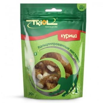 Triol / Триол Кальцинированные косточки с курицей для собак, 70г