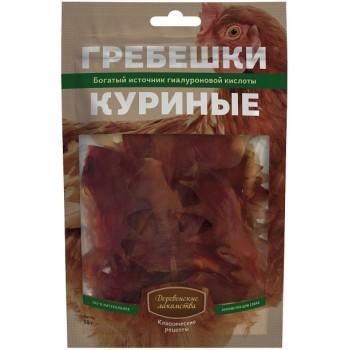 Деревенские лакомства Гребешки куриные, 50г