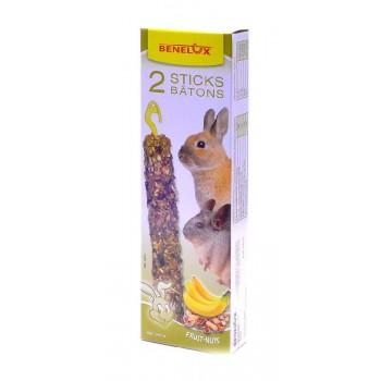 Benelux / Бенелюкс Лакомые палочки для грызунов орехами бананами 36233