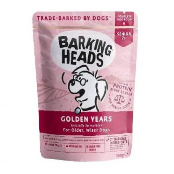 "Barking Heads / Баркинг Хедс Паучи для собак старше 7 лет ""Золотые годы"" (Golden Years 300g), 300 гр"
