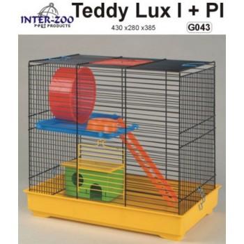 Iнтер-Zоо / Интер-Зоо Клетка д/грызунов TEDDY LUX I 430*280*385см (цветная) (G043)
