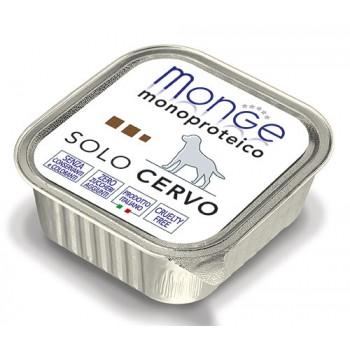 Monge / Монж Dog Monoproteico Solo консервы для собак паштет из оленины 150г