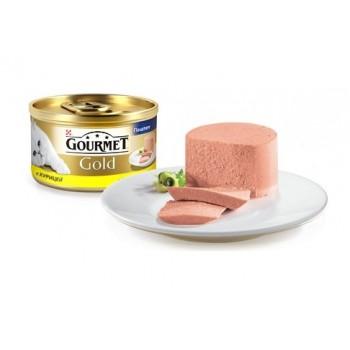 Gourmet Gold / Гоурмет Голд для кошек Курица паштет 85 гр
