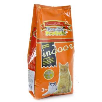 Frank's ProGold / Франкс ПроГолд для домашних и кастрированных кошек (Indoor 28/14) 3 кг