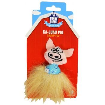 """R2P игрушка для кошек Funny Farms """"Свинка в гавайской юбке"""""""