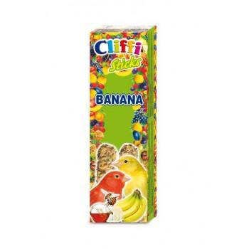 Cliffi / Клиффи Лакомства для Канареек: палочки бананом медом PCOA429