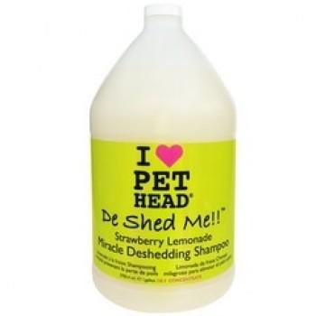 """Pet Head Шампунь клубнично-Лимонадный """"Чудо-линька"""" для линяющих Собак, без сульфатов и парабенов (DE SHED ME)"""