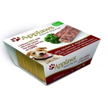 Applaws / Эпплаус Паштет для Собак с Курицей и овощами 0,15 кг