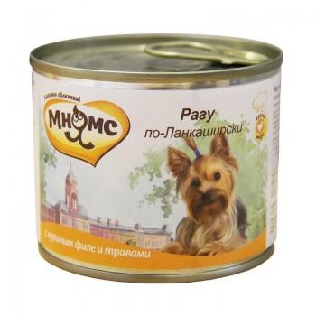 Мнямс консервы для собак Рагу по-Ланкаширски (куриное филе с травами) 200 г