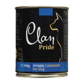 Clan / Клан PRIDE консервы для собак Рубец говяжий, 0,34 кг