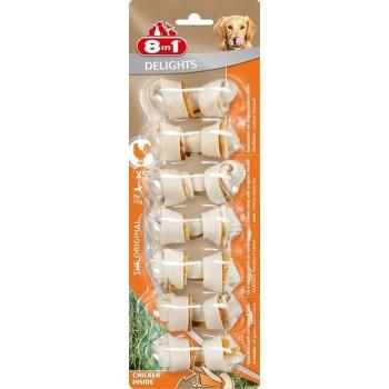 8in1 Delights XS косточки для мелких собак 7х7,5 см