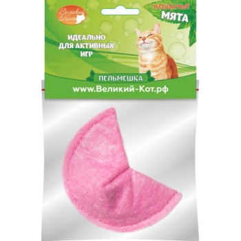 Великий Кот Игрушка д/кошек Пельмешка с кошачьей мятой 5см (GC454)