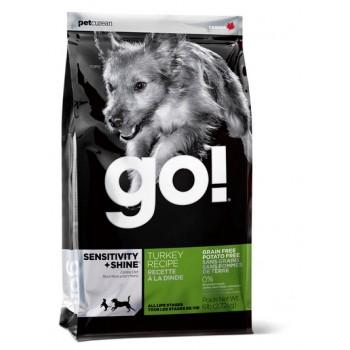 Go! / Гоу! для щенков и Собак с индейкой для чувств. Пищеварения 2,72 кг