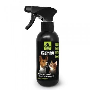 """Gamma / Гамма Универсальный ликвидатор запаха для туалетов """"Хорошие манеры"""", 250мл"""