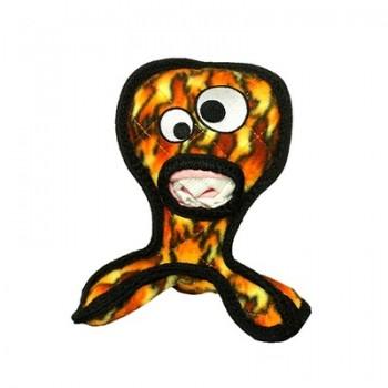 Tuffy / Таффи Супер прочная игрушка для собак Инопланетный триног, пламя, прочность 9/10