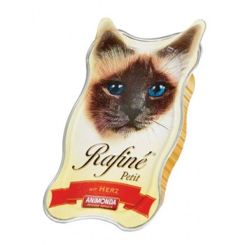 Animonda Rafine Petit конс. 85 гр. Паштет с сердцем для взрослых кошек (ламистер) 83471