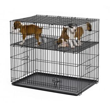 Midwest / Мидвест этажная сетка для клетки Puppy Playpen (арт. 224-05 ) размер 61х91х76 см