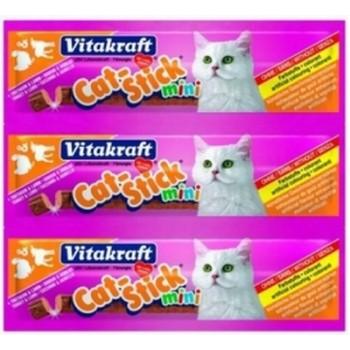 Vitakraft / Витакрафт Колбаски д/кошек Cat-Stick индейка,ягненок 3штх6г