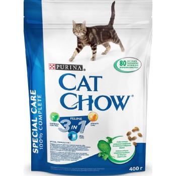 """Cat Chow / Кэт Чоу """"Feline"""" сухой 400 гр для кошек 3 в 1"""