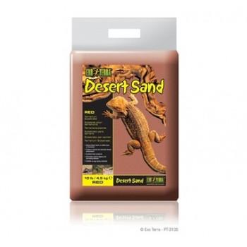 Exo Terra / Экзо Терра Песок для террариумов Desert Sand красный 4,5 кг PT3105