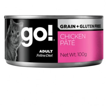 GO! / ГОУ! Grain Free Chicken Stew with Turkey + Duck CF консервы беззерновые с тушеной курицей, индейкой и мясом утки для кошек 100 гр