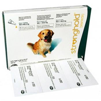 Stronghold / Стронгхолд 240мг Капли Инсекто-акарицидные д/собак от 20 до 40кг 12% 2мл*3пипетки (зеленые)