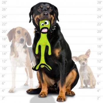 Tuffy / Таффи Супер прочная игрушка для собак Высокий инопланетный триног, зеленый, прочность 8/10