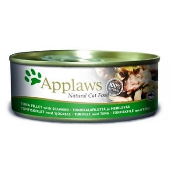 Applaws / Эпплаус Консервы для кошек с филе Тунца и Морской капустой 0,156 кг