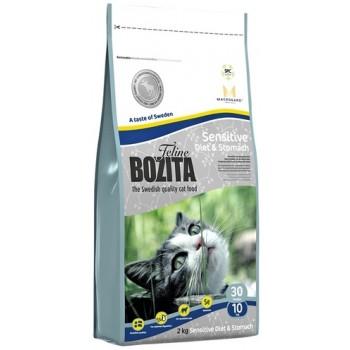Bozita / Бозита Funktion Sensitive Diet&Stomah сух.корм д/кошек чувствительным пищеварением 2кг