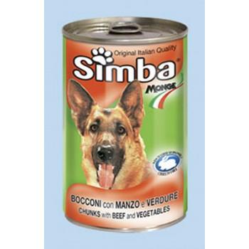 Simba / Симба Dog консервы для собак кусочки говядина с овощами 1230 г