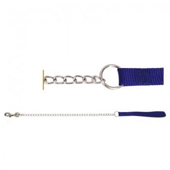 Triol / Триол Поводок-цепь SHM3511-1 с нейлоновой ручкой, 3,5*1100мм