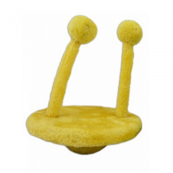 Papillon / Папиллон Игрушка для кошек НЛО 20х25см желтая, плюш