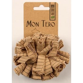"""Mon Tero / Мон Теро ЭКО игрушка для собак """"Мяч"""" средний, 9 см, тряпичный"""