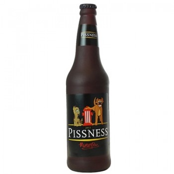 "Silly Squeakers Виниловая игрушка-пищалка для собак Бутылка пива ""Писснесс"" (Beer Bottle Pissness) SS-BB-PN"