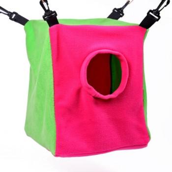 OSSO / ОССО Fashion Домик для хорьков из флиса р-р 28*23*30 см, d 14 см Их-1004