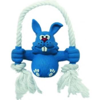 """Ziver / Зивер Игрушка """"Кролик на качелях голубой"""", 14 см"""