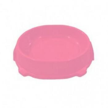 Favorite / Фаворит миска пластиковая нескользящая 0,22л. розовая