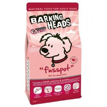 """Barking Heads / Баркинг Хедс Беззерновой корм для Собак с Лососем и картофелем """"Мисочку оближешь"""" , 2 кг"""