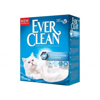 Ever Clean Extra Strong Clumping Unscented Наполнитель д/кошек без ароматизатора 6кг