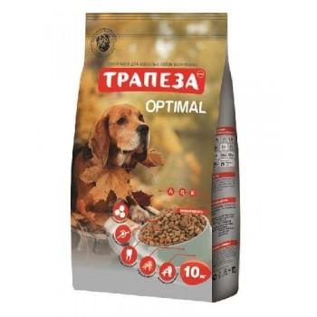 Трапеза Оптималь сух.д/собак 10кг